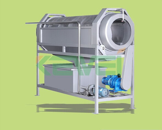 Drum cleaning machine & ginger / potato washing machine