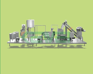 fruit jam production line / apple & tomato paste processing line