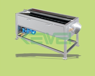 3 ton carrot washing machine / potato cleaning machine / ginger washing and peeling machine