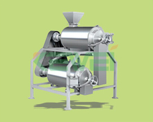 Industrial mango pulping /processing machine (MDJ model stoning and pulping machine)